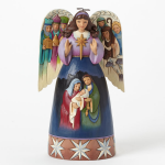 Nativity Angel -Sculpted Wings