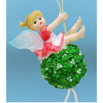 Mistletoe Ball Fairy Ornament