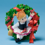 Little Cardinal Wreath Fairy