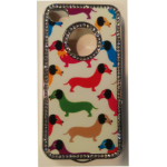 iphone 4/4S dachshund dog bling phone case