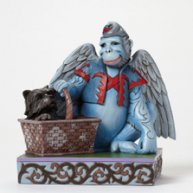 Winged Monkey with Toto
